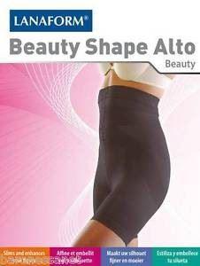 Оформящо бельо Beauty Shape Alto черен Lanaform