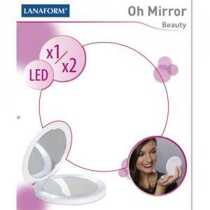 Огледало OH MIRROR със светодиод и две лица Lanaform