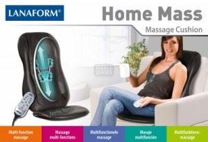Масажна вибрираща седалка за Шиатцу масаж HOME MASS Lanaform