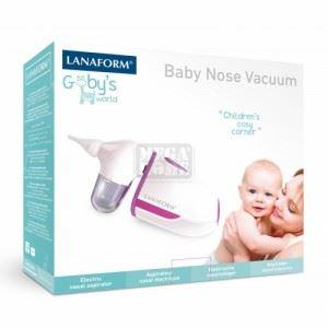 Бебешки абсорбатор на секрет от носа BABY NOSE VACUUM Lanaform