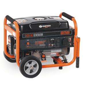 Бензинов монофазен генератор 2,2 kW DAEWOO GD2500