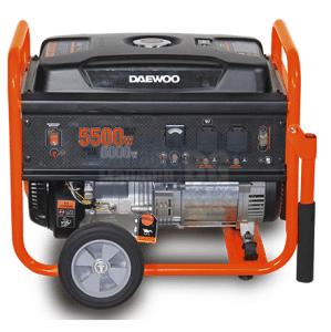 Бензинов монофазен генератор 6500 W DAEWOO GD 7000 Е