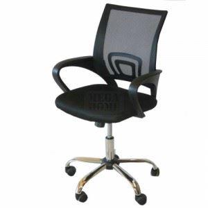 Офис стол 6302 черен