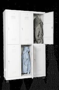 Шкаф за дрехи за 6 души