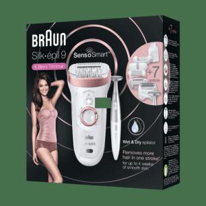 Епилатор Braun SES 9/890 смарт сензор