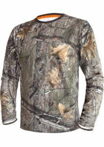 Блуза от памук с дълъг ръкав DGT Hillman