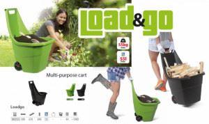 Количка за градина Load&Go 61 х 61 х 84 h см
