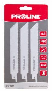 Ножчета за метал за прав трион 5 броя BiMetal PROLINE