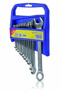 Комплект звездогаечни ключове 6-22 мм ERBA 12 броя