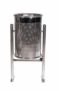 Метален кош 60л
