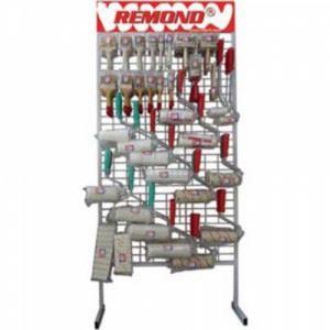 Стелаж 200*90см за четки и валяци Remond