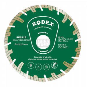 Диск диамантен турбо 230мм висок сегмент Rodex
