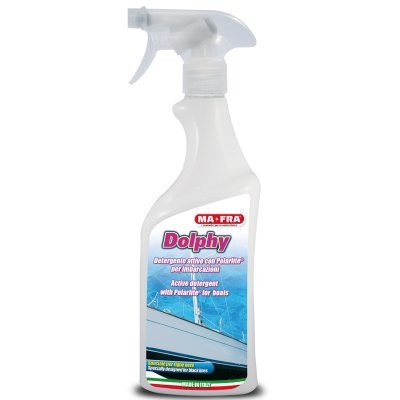 Активен почистващ препарат за стъклопласт Dolphy 750 мл