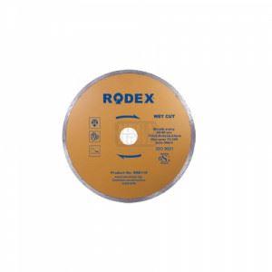 Диск диамантен гладък за мокро рязане 230мм Rodex