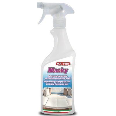 Почистващ препарат за мека мебел и тапицерии от плат Macky 750мл