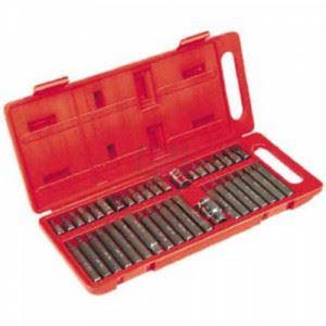 """Накрайници 40 части 10мм.1/2\""""&3/8\"""" Top-tools"""