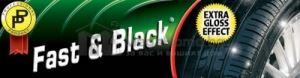 Възстановяваща вакса за гуми и пластмасова повърхност Fast&Black