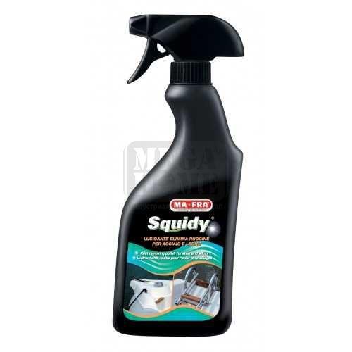 Почистващ ръжда и полиращ алуминиеви части препарат Squidy