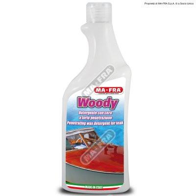 Препарат за почистване на дърво и тик Woody