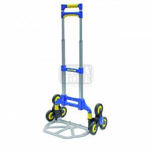 Сгъваема алуминиева количка с 6 колела Erba