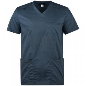 Мъжка медицинска туника TYLER вталена KOI Design сив