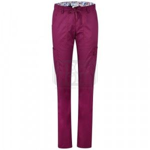 Дамски медицински панталон LINDSEY KOI Design червен