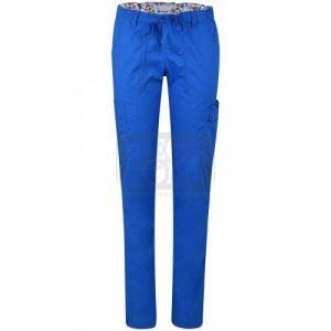 Дамски медицински панталон LINDSEY KOI Design син