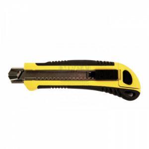 Нож макетен 18х170mm метал. 5 ножч. трето поколение Top Master