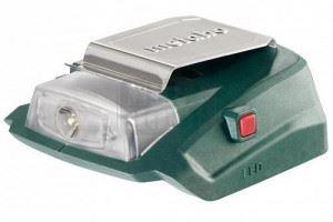 Зарядно USB акум. 2 А + фенер Metabo PA 14.4-18 LED