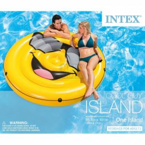 Надуваем борд Cool Guy Island Intex