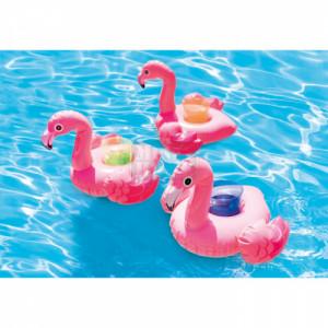Надуваема поставка за чаша Intex Фламинго 28 х 25 х 20 см