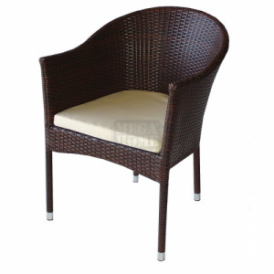 Ратанов стол 350 San Valente 57 х 59 х 78 см