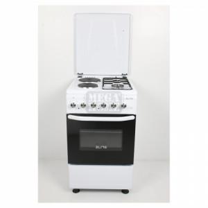 Комбинирана готварска печка на ток и газ ELITE EFC-50G60