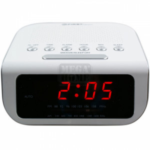 Радио часовник FIRST FA-2406-1-WI