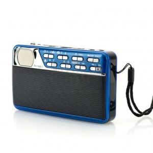 Преносимо радио FIRST FA-1925-1-BU