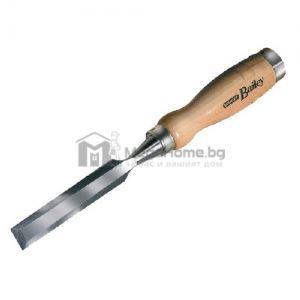 Плоско длето с дървена дръжка 12 х 130 х 270 мм Stanley