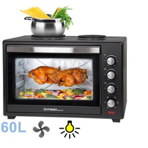 Готварска печка с 2 котлона 3400 W FIRST FA-5045-5