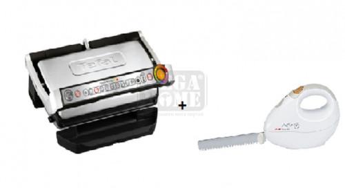 Барбекю Tefal Optigrill+ XL Silver+Tefal Electrical Knife