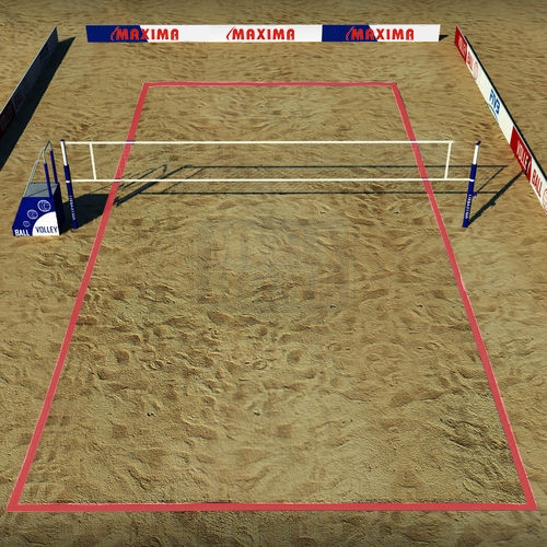 Ленти за плажен волейбол Maxima 48 м х 5 см