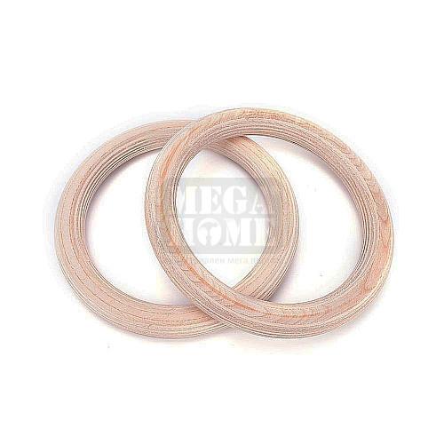 Рингове от дърво Maxima ф 23.5 см чифт