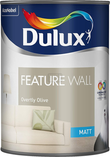Боя Dulux Fw Matt Overtly Olive 1.25 л.