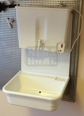 Навесен комплект  Умивалник с водонагревател