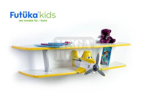 Двуетажен рафт за детска стая  Дъсти