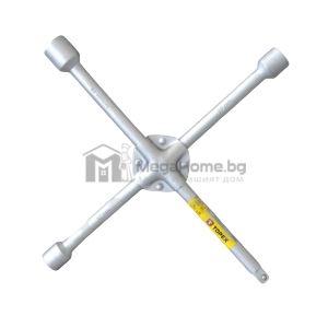 Ключ кръстат, марка Topex, с накрайник 1/2 за вложки, 17x19x22мм