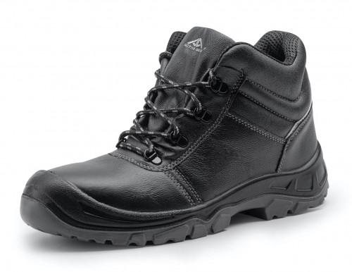 Работни обувки A-FIRST високи черни S3 SRC Active Gear