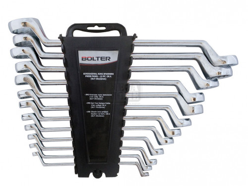 Комплект ключове лули матирани Bolter CR.V. 8 броя