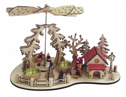 Коледен свещник Зимна приказка