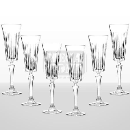 Комплект 6 чаши за шампанско 24567