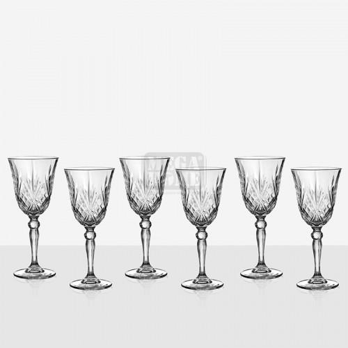Комплект 6 чаши за вино Melodia 621302