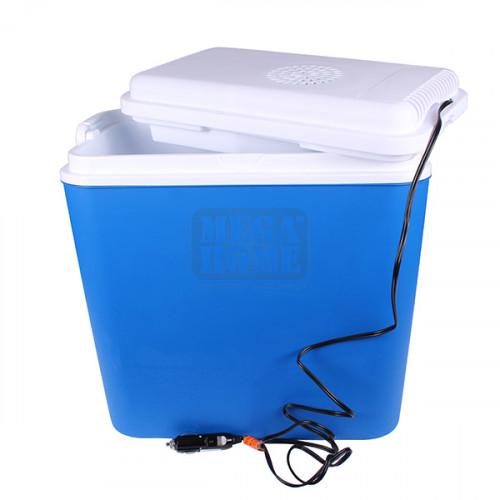 Активна хладилна кутия в син цвят Atlantic 12V, 18 л.